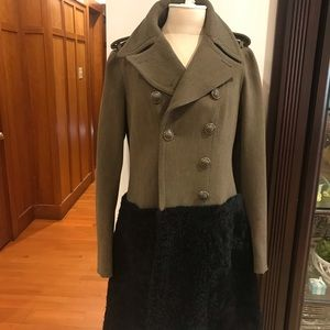 Burberry Prorsum Military Trench Coat